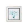 This item: White Ocean Cameo I Wall Art