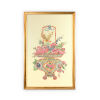 This item: Gold Chinoiserie Basket III