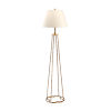 This item: Gold One-Light Floor Lamp