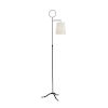 This item: Charlotte Weathered Bronze One-Light Floor Lamp