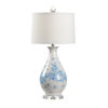 This item: Spring Blue and White One-Light Table Lamp