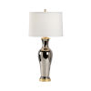 This item: Baker Street Silver One-Light Urn Table Lamp