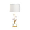 This item: Gold One-Light Large Orchid Table Lamp