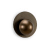 This item: Copper and Black One-Light Circle Wall Sconce