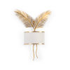 This item: Gold Two-Light Palm Wall Sconce
