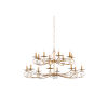 This item: Gold 16-Light Tiered Chandelier