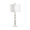 This item: Merida Antique Brass One-Light Crystal Table Lamp