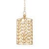 This item: Gold Three-Light Pendant