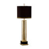 This item: Antique Brass and Black Table Lamp