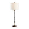 This item: Fenno Antique Brass and Black Table Lamp