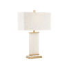 This item: Damon Natural White Table Lamp
