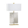 This item: Astaire Silver Table Lamp
