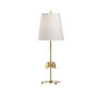 This item: Gable Antique Brass Table Lamp