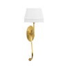 This item: Swirl Antique Brass Wall Sconce
