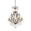 This item: Old Gold Eight-Light Chandelier