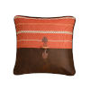 This item: Carter Red and Brown 18 In. X 18 In. Envelope Throw Pillow