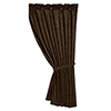 This item: Tooled Leather Chocolate 48 x 84-Inch Curtain Single Panel