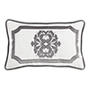 This item: Madison White and Grey 16 x 26 In. Throw Pillow