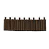 This item: Wilderness Ridge Brown, Tan and Red 84 x 18-Inch Valance