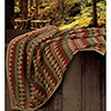 This item: Wilderness Ridge Multicolor Knitted Throw