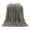 This item: Mongolian Grey Faux Lamb Fur Throw