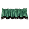 This item: Cheyenne Turquoise 84 x 18-Inch Valance with Fringe