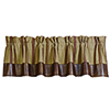 This item: Ruidoso Brown 84 x 18-Inch Valance