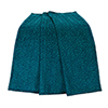 This item: Alamosa Teal Chenille Leopard Throw