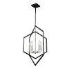 This item: Preston Semi Matte Black and Brushed Nickel Six-Light Pendant
