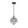 This item: Artistry Matte Black and Harvest Brass 10-Inch One-Light Geometric Mini Mini Pendant