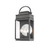 This item: Fulton Black 19-Inch Two-Light Outdoor Wall Light