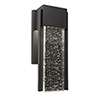 This item: Cortland Black Six-Inch LED Outdoor Wall Sconce