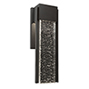 This item: Cortland Black Five-Inch LED Outdoor Wall Sconce