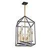This item: Twilight Matte Black and Harvest Brass 12-Light Chandelier