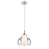 This item: Decanter Brushed Nickel 14-Inch One-Light Teardrop Pendant