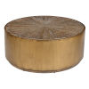 This item: Salsbury Brown and Antique Gold Coffee Table