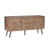 This item: Soren Multi Natural Two-Door Sideboard
