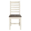 This item: Kentwood Lark Brown and Antique White Dining Chair