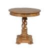 This item: Bella Distressed Honey Brown End Table