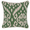 This item: Amy Green and Ivory Throw Pillow