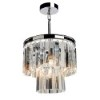 This item: El Dorado Chrome Three-Light 12.5-Inch Wide Crystal Mini Chandelier