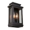 This item: Fremont Oil Rubbed Bronze Two-Light 11-Inch High Outdoor Wall Sconce