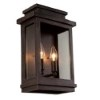 This item: Fremont Oil Rubbed Bronze Two-Light 13.5-Inch High Outdoor Wall Sconce