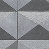 This item: Plastered Diamond Grey and Black Wallpaper - SAMPLE SWATCH ONLY