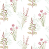 This item: Teal and Pink Floral Wallpaper - SAMPLE SWATCH ONLY