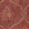 This item: Regal Damask Red and Ochre Wallpaper