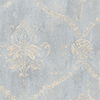 This item: Regal Damask Blue and Beige Wallpaper - SAMPLE SWATCH ONLY