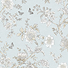 This item: Butterfly Toile Light Blue Wallpaper - SAMPLE SWATCH ONLY