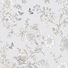 This item: Butterfly Toile Grey Wallpaper