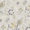 This item: Jacobean Floral Grey and Yellow Wallpaper - SAMPLE SWATCH ONLY